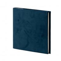 Gäste- und Fotoalbum, Samt, Blau