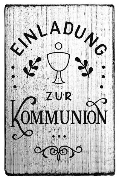 """Stempel """"Einladung zur Kommunion"""""""