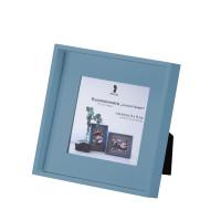 Bilderrahmen für Fotos 13x13 cm, Denim/Blau