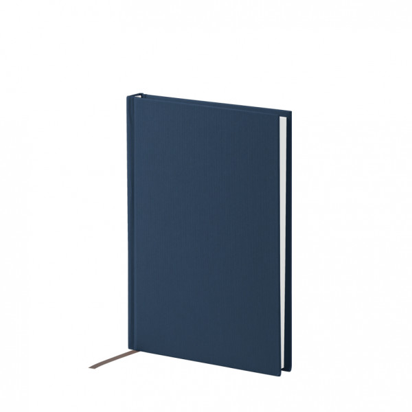 Notizbuch A5, Navy/Blau