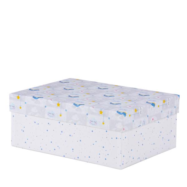 Box Baby, L, Blau