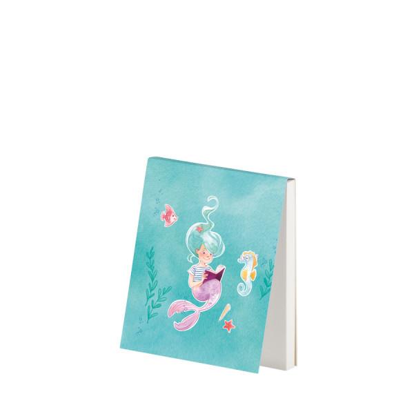 Notizblöckchen, Meerjungfrau