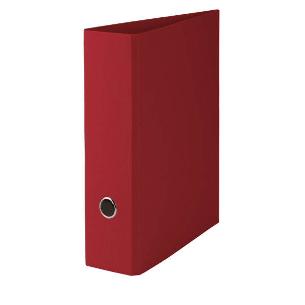 Hochwertiger SOHO A4 Ordner in Rot