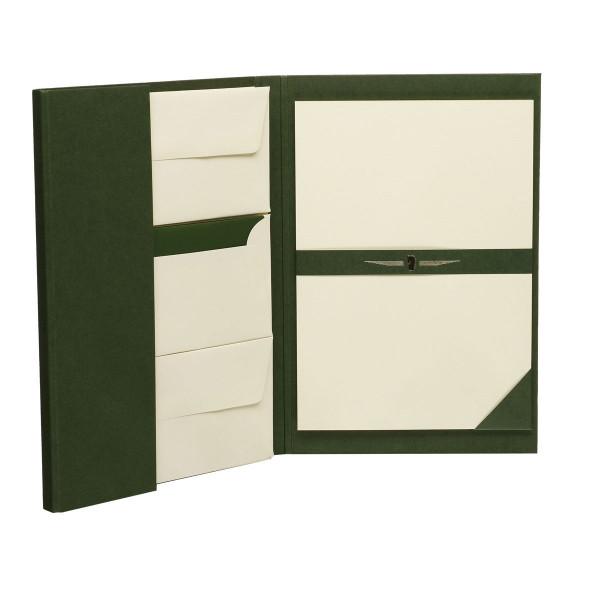 Briefpapiermappe A4, Grün