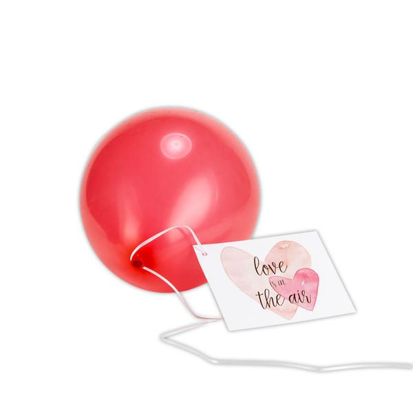Ballonkarten 5er Set, Hochzeit