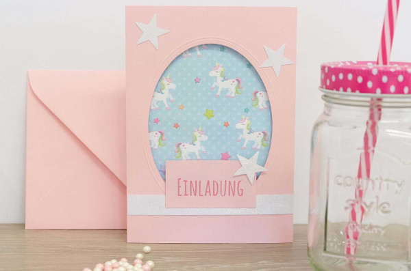 Einladung-Einhorn-Kartenwerkstatt-DIY