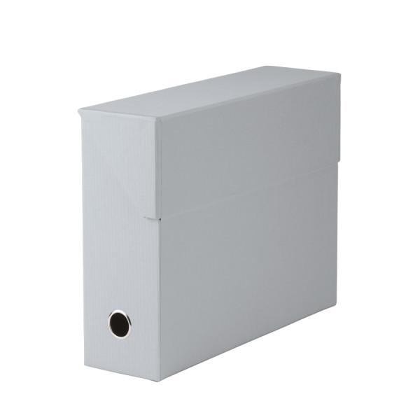 Archivbox für A4, Stone/Grau
