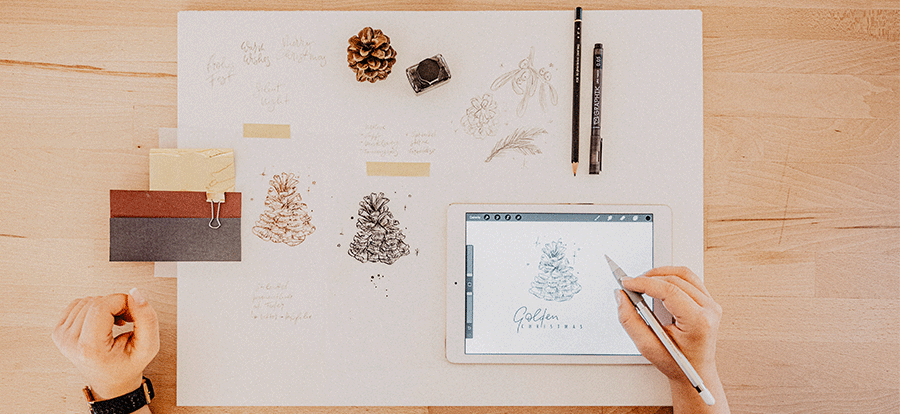 weihnachten-produkte-roessler-ipad-illustration