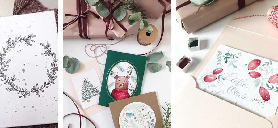 weihnachten-karte-diy-herzensdame-aquarell