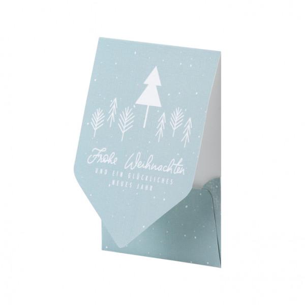 Weihnachtskarte, Tannenbaum