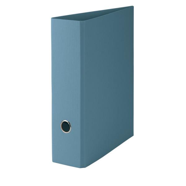 Hochwertiger SOHO A4 Ordner in Denim/Blau