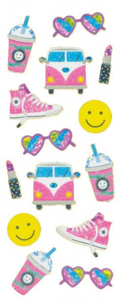 Sticker, Trendy Girl