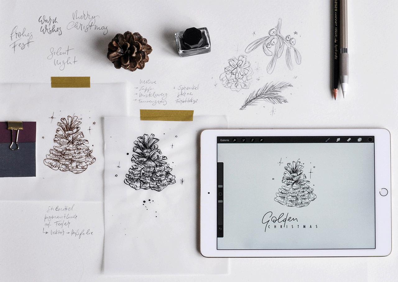 weihnachten-design-zeichnung-aquarell-illustration-sabine-fuchs-roessler