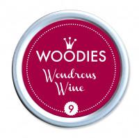 Stempelkissen, Wondrous Wine/Dunkelrot