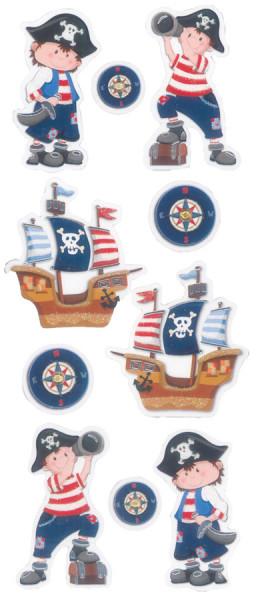 Sticker, Pirat