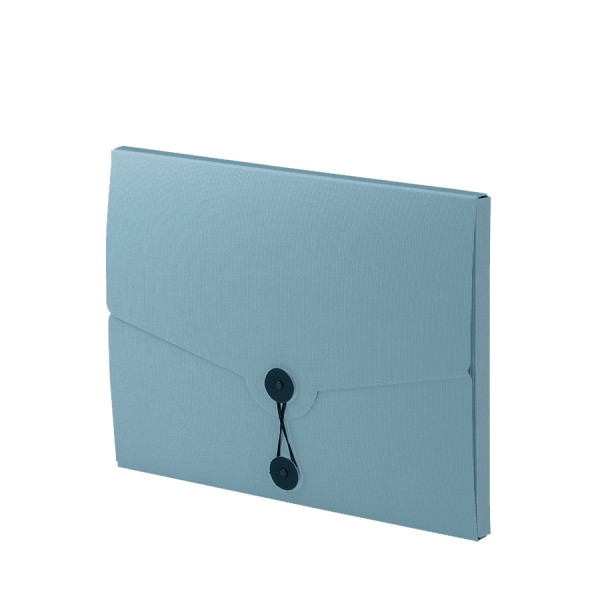 Sammelmappe für A4, Denim/Blau