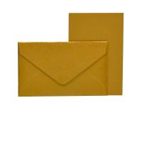 Mini-Karten mit Briefumschlag, Gold