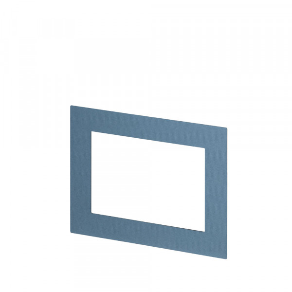 Passepartout für Bilderrahmen 10x15, Denim/Blau