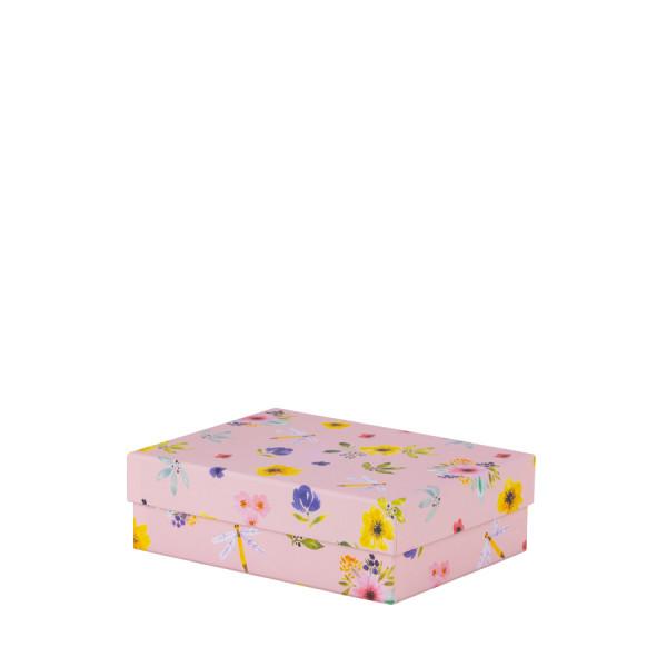 Box, klein, Blumen