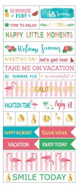 Sticker, Summer Vibes