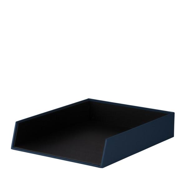 Ablagekorb für A4, Navy/Blau