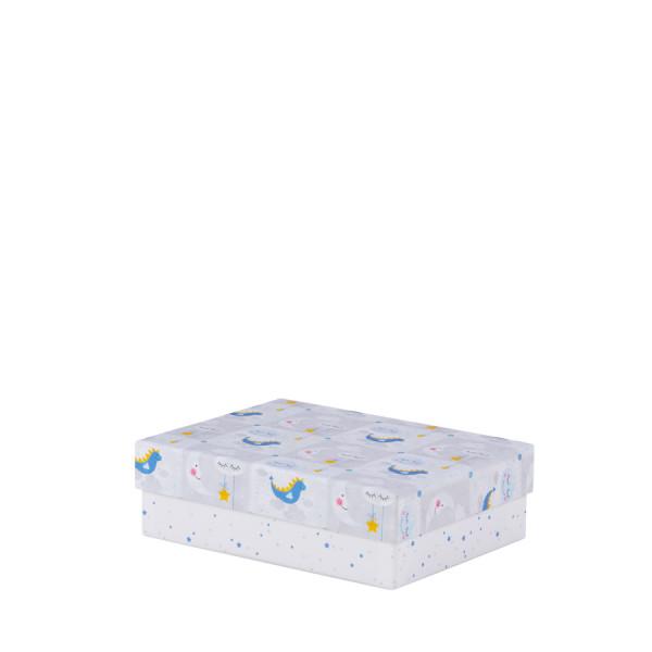 Box, S, Blau