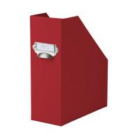 Stehsammler mit Griff für A4, Rot