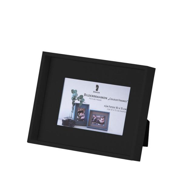 Bilderrahmen für Fotos 10x15 cm, Schwarz