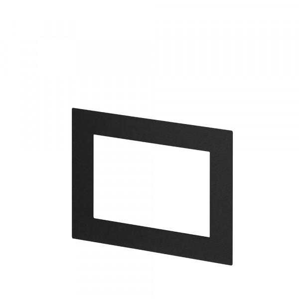 Passepartout für Bilderrahmen 10x15, Schwarz