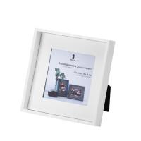 Bilderrahmen für Fotos 13x13 cm, Weiß