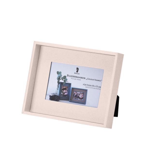 Bilderrahmen für Fotos 10x15 cm, Powder-Rosa