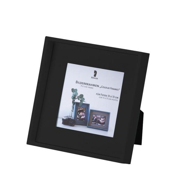 Bilderrahmen für Fotos 13x13 cm, Schwarz