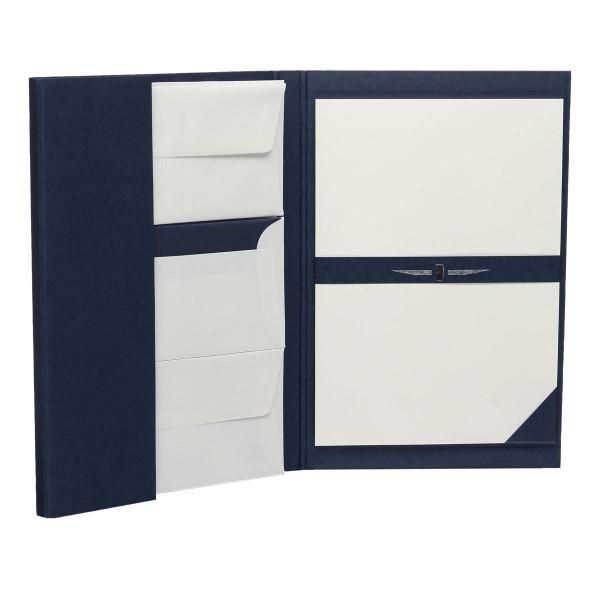 Briefpapiermappe A4, Blau
