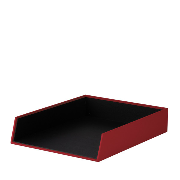 Ablagekorb für A4, Rot