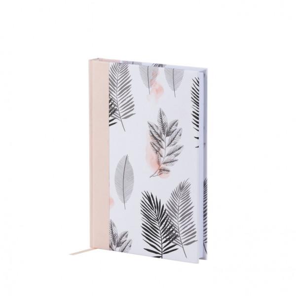 Notizbuch A5, Tropenblätter