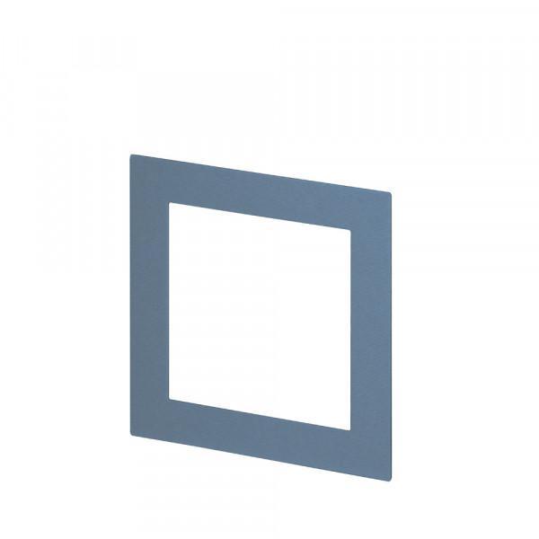 Passepartout für Bilderrahmen 13x13, Denim/Blau