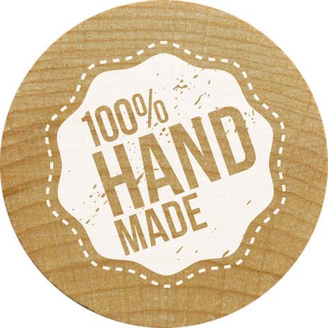 Stempel, 100% Handmade