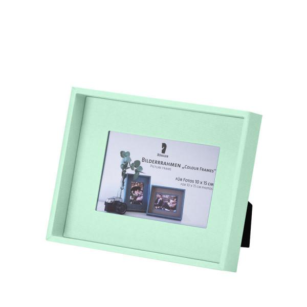 Bilderrahmen für Fotos 10x15 cm, Mint