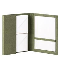 Briefpapiermappe A5, Salbei/Grün