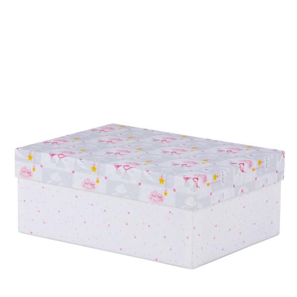 Box Baby, L, Rosa