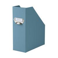 Stehsammler mit Griff für A4, Denim/Blau