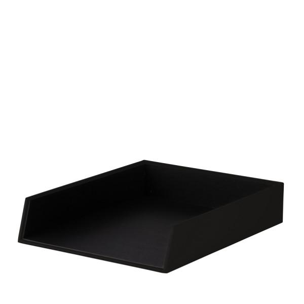Ablagekorb für A4, Schwarz