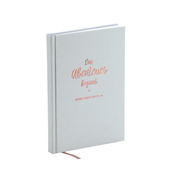 Notizbuch, Das Abenteuer beginnt