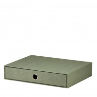 1er Schubladenbox für A4, Salbei/Grün