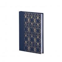 Notizbuch A5, Art Deco, Blau