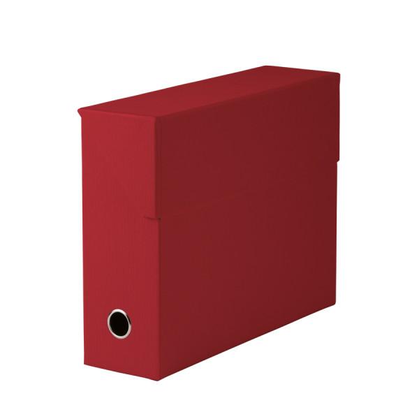 Archivbox für A4, Rot