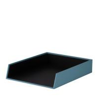 Ablagekorb für A4, Denim/Blau