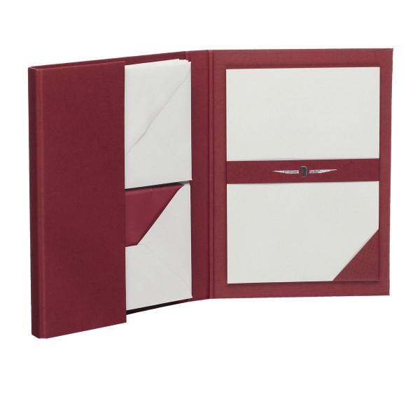 Briefpapiermappe A5, Rot