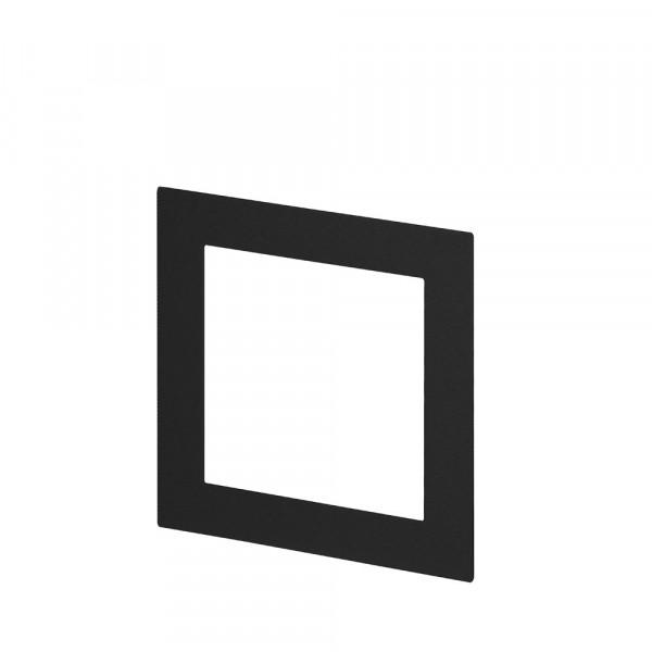 Passepartout für Bilderrahmen 13x13,Schwarz
