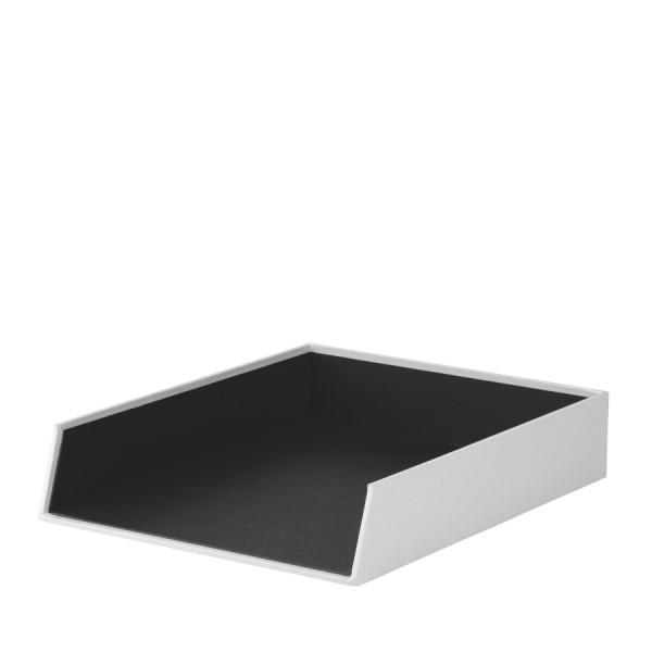 Ablagekorb für A4, Weiß